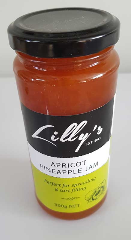 Lilly's Apricot and Pineapple Jam