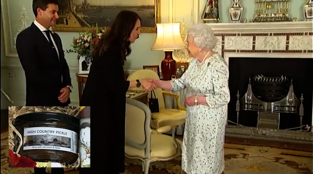 NZ PM meets Queen Elizabeth