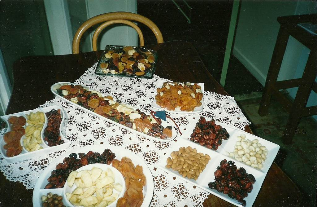 Dried Fruit Mixed with Nuts and Snacks